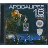 Cd Apocalipse 16 Show Ao Vivo I Pregador Luo Lc113