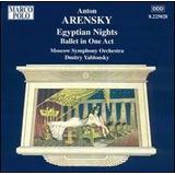 Cd Arensky Egyptian Nights   Usado