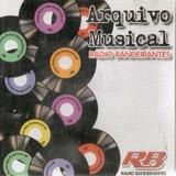 Cd Arquivo Musical   Radio Bandeirantes
