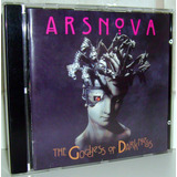Cd Ars Nova   The Goddess Of Darkness   Prog Japão