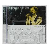 Cd Art Garfunkel   Simply The Best   Importado   Lacrado