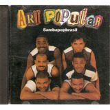 Cd Art Popular   Samba Pop Brasil