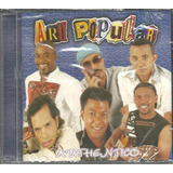 Cd Art Popular authentico lacrado