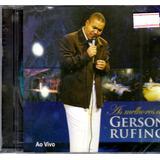 Cd As Melhores De Gerson Rufino Ao Vivo