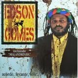 Cd Atração Edson Gomes   Acorde Levante Lute   2001   Ad