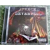 Cd Avenged Sevenfold   City Of Evil   Lacrado