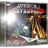 Cd Avenged Sevenfold   City Of Evil