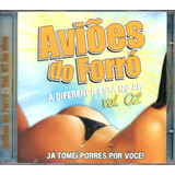 Cd Aviões Do Forró   Ao Vivo   Vol  2