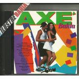 Cd Axé Bahia 1ª Edição Seleção Musica Baiana 1994
