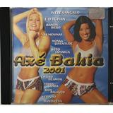 Cd Axe Bahia 2001 Ivete Sangalo E O Tchan   A6