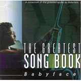 Cd Babyface The Greatest Song Book