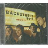 Cd Backstreet Boys This Is Us 01 Faixa Bônus Pitbull Lacrado
