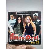 Cd Banda Amor Real Vol 2 Bicicletinha Forró