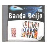 Cd Banda Beijo Ao Vivo 1998   Original   Lacrado