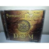 Cd Banda Dom Permanecer No Amor
