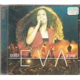 Cd Banda Eva   Ao Vivo 2  vocal Emanuelle Araujo   Novo