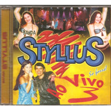 Cd Banda Styllus   Ao Vivo 3   So Forro   Original Novo
