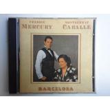 Cd Barcelona Freddie Mercury And Montserrat Caballé