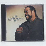 Cd Barry White The Icon Is Love Importado Usa