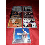 Cd Beckstreet Boys aron nick Carter 6 Cds 1 Single 1 Single