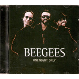 Cd Bee Gees   One Night Only   Novo