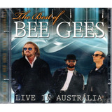 Cd Bee Gees   The Best Of   Live In Austrália