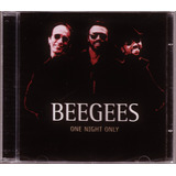 Cd Bee Gees One Night Only Novo Original Lacrado