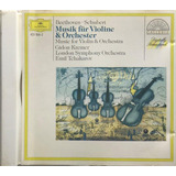 Cd Beetoven Schubert Musik Fur Violine Gidon Kremer   A9
