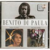 Cd Benito Di Paula   2 Em 1 Um Novo Samba