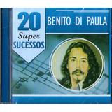 Cd Benito Di Paula 20 Super Sucessos