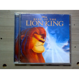 Cd Best Of The The Lion King   Rei Leão