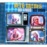 Cd Beto Guedes   50 Anos   Ao Vivo