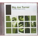 Cd Big Joe Turner   Definitive Blues Collection  usado otimo