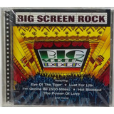 Cd Big Screen Rock 1997 Survivor Iggy Pop Billy Squier Knack