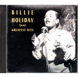Cd Billie Holliday   Greatest Hits   Brilhantes