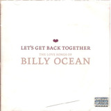 Cd Billy Ocean   Let s Get Back Together   Novo