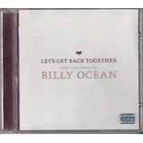 Cd Billy Ocean   Let s Get The Love Song   Bmg 2003