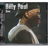 Cd Billy Paul   Live