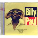 Cd Billy Paul July July Original Lacrado