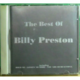Cd Billy Preston The Best Of   Funk Black Dance Pop