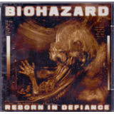 Cd Biohazard   Reborn In Defiance   Novo