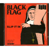 Cd Black Flag Slip It In Importado Raridade