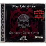 Cd Black Label Society Stronger Than Death 2000 Americano