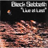 Cd Black Sabbath   Live At Last   Nacional Lacrado D Fabrica