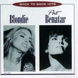 Cd Blondie  Pat Benatar   Back To Back Hits  lacrado
