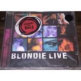 Cd Blondie Live   Deborah Harry   Lacrado