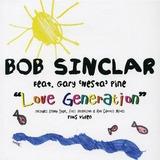 Cd Bob Sinclair Gary Pine Love Generation X6