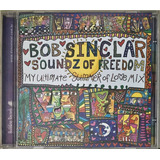Cd Bob Sinclar Soundz Of Freedom   D2