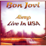 Cd Bon Jovi Always Live In Usa Novo