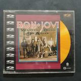 Cd Bon Jovi Single Raro   Wanted Dead Or Alive   Cd Gold
